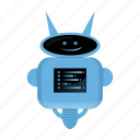 android, cyborg, robot, robot cartoon icon