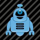 character, cyborg, robot, robot cartoon