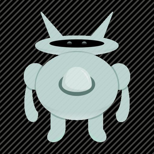 character, cyborg, robot, robot cartoon icon