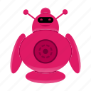 android, artificial intelligence, robot, robot character icon