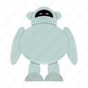 android, artificial intelligence, cute robot icon