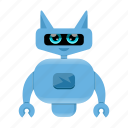android, artificial intelligence, robot icon