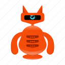 android, cyborg, robot, robot character icon