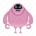 android, cute robot, humanoid, toy