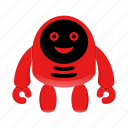 android, artificial intelligence, cute robot, robot character icon