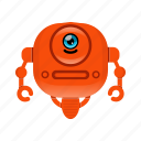 android, cyborg, reboot character, robot icon