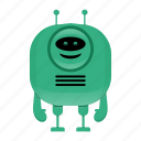 android, artificial intelligence, reboot character, robot icon