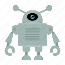 cyborg, robot icon
