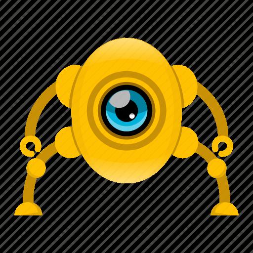 artificial intelligence, cyborg, robot icon