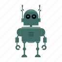 cyborg, humanoid, robot, toy icon
