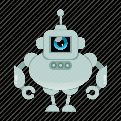 cyborg, humanoid, robot, toy icon