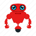 character, cyborg, robot, toy icon