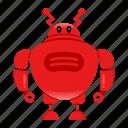 cyborg, robot, robotcharacter icon