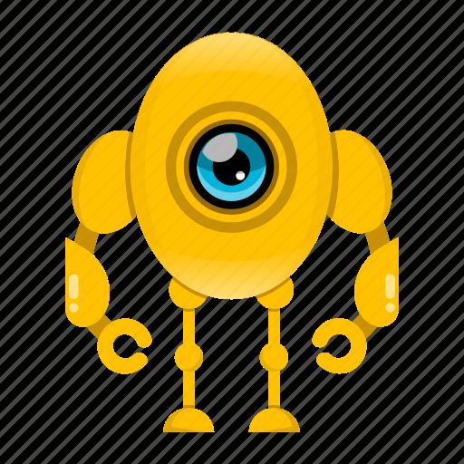 Cyborg, robot, robot cartoon icon - Download on Iconfinder