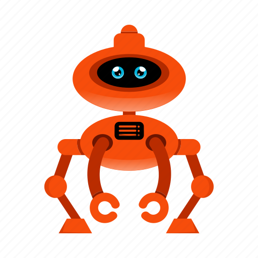 artificial intelligence, cyborg, robot, toy icon