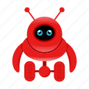 cyborg, mascot, robot icon