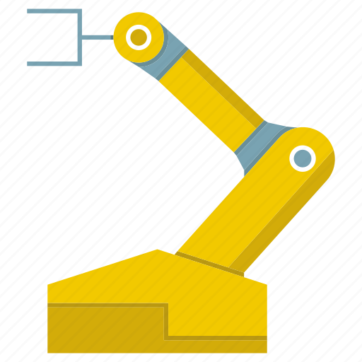 automate, engineering, industrial, machine, manufacture, robot, robotic hand icon
