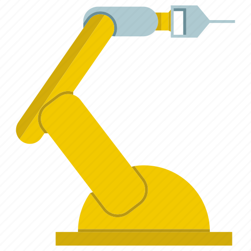 automate, engineering, industrial, machine, production, robot, robotic hand icon