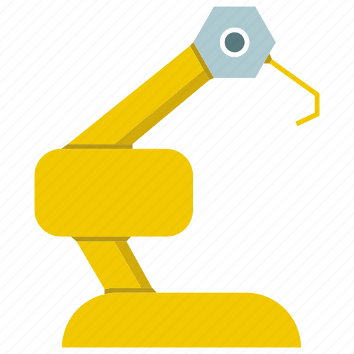 automate, cnc, industrial, machine, manufacture, robot, robotic hand icon