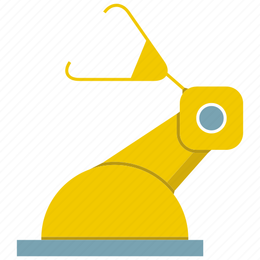 engineering, industrial, machine, manufacture, production, robot, robotic hand icon