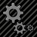 setting, machine, robot, robotic, technology, gear, configuration icon