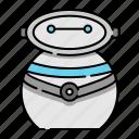 cyborg, futuristic, machine, robot, robotic, innovation, technology icon
