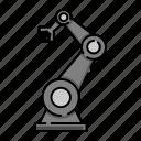 industrial, cyborg, futuristic, machine, robot, device, robotic icon