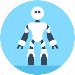 character robot, game robot, machine, robot, robotics icon