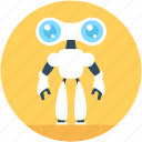 advanced technology, bionic robot, cyborg, spherical robot, spy robot icon