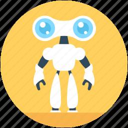 advanced technology, bionic robot, cyborg, spherical robot, spy robot icon