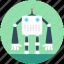 bionic robot, character robot, technology, cyborg, robot emoticon