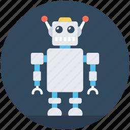 character robot, game robot, robot, robotic machine, robotics icon