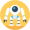advanced technology, character robot, nasa robot, robot monster, technology icon