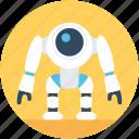 character robot, advanced technology, technology, nasa robot, robot monster icon