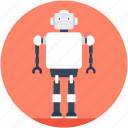 bionic robot, electronic robot, human robot, robotic machine, robotics icon