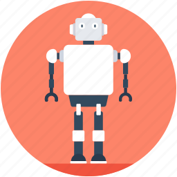 bionic robot, electronic robot, human robot, robotic machine, robotics icon