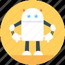 mini robot, android robot, technological, machine, robotic technology, robot monster