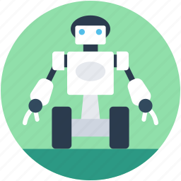 advanced technology, bender robot, bionic robot, cyborg, spherical robot icon