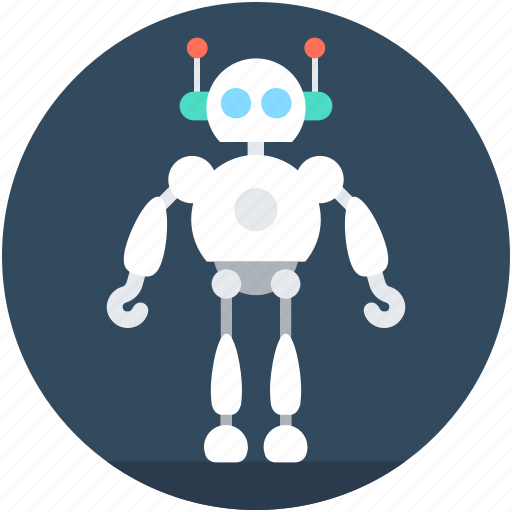 Character robot, game robot, robot, robotic machine, robotics icon - Download on Iconfinder
