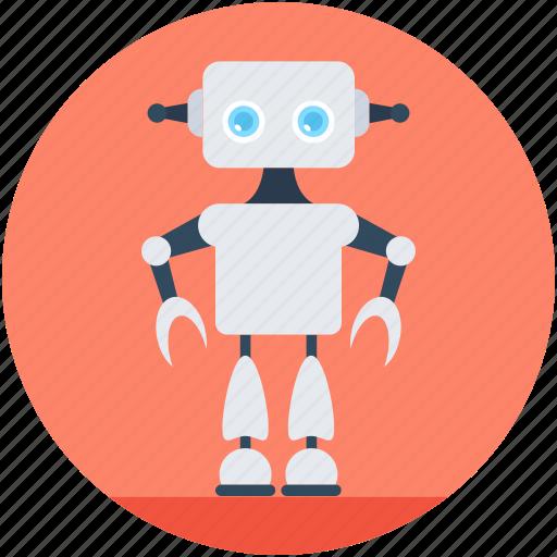 Character robot, game robot, robot, robotic machine, robotics icon - Download on Iconfinder