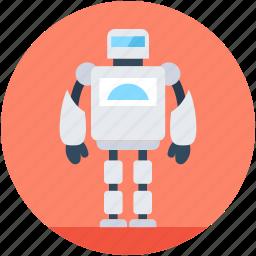 advanced technology, character robot, humanoid robot, robotics, technology icon