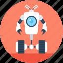 bionic robot, character robot, cyborg, robot machine, technology