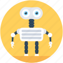 android robot, machine, mini robot, robot monster, robotic technology, technological icon