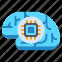 brain, chip, cpu icon
