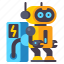 battery, charging, robot