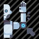 arm, hand, robot, robotic