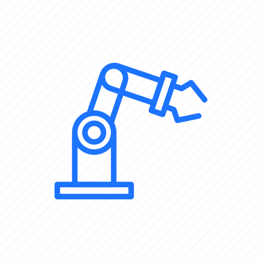 arm, robot, robotics icon
