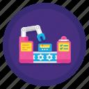 assembly, machine, robot, technology icon