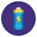 batteries, electricity, energy, power icon