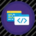 coding, computer, development, programming icon